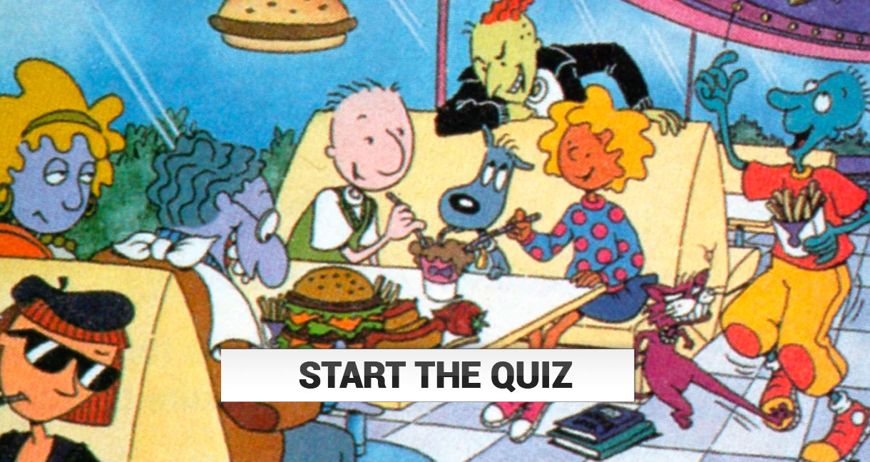 Only A Real 90s Kid Can Name All Of These Cartoons! | TheQuiz