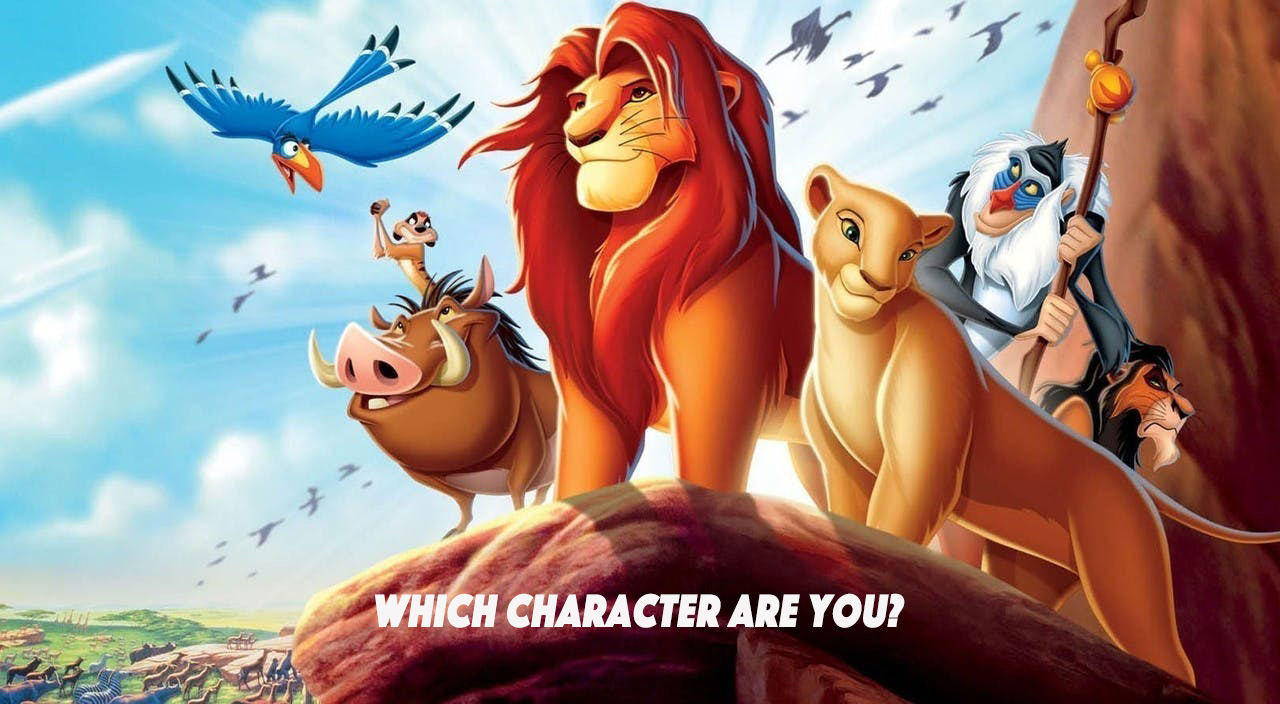 The 60-Second Quiz That'll Tell You Which Lion King Character You Are