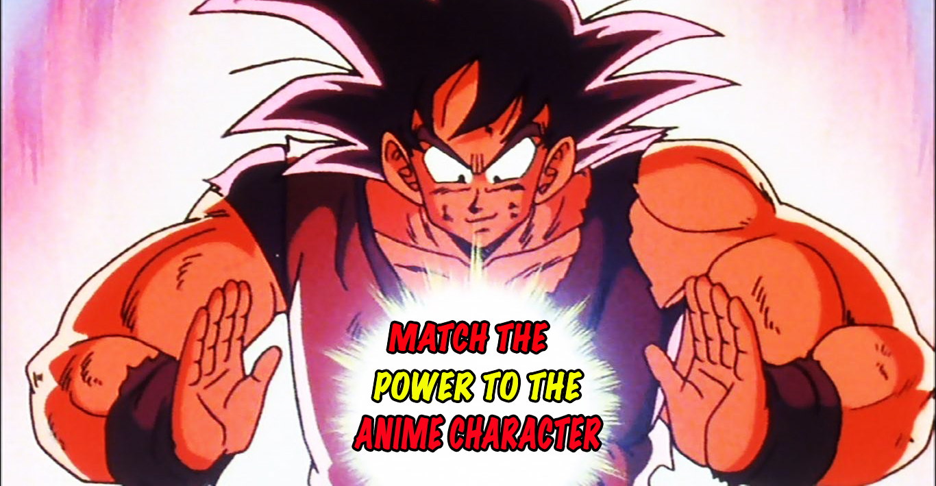 Only A Real Anime Fan Can Match These Characters To Their