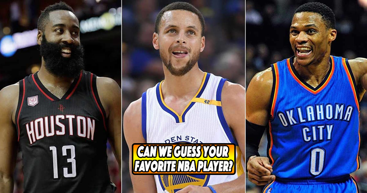 7d5824533f92 Who s Your Favorite NBA Player  Take This Test And We ll Tell You!