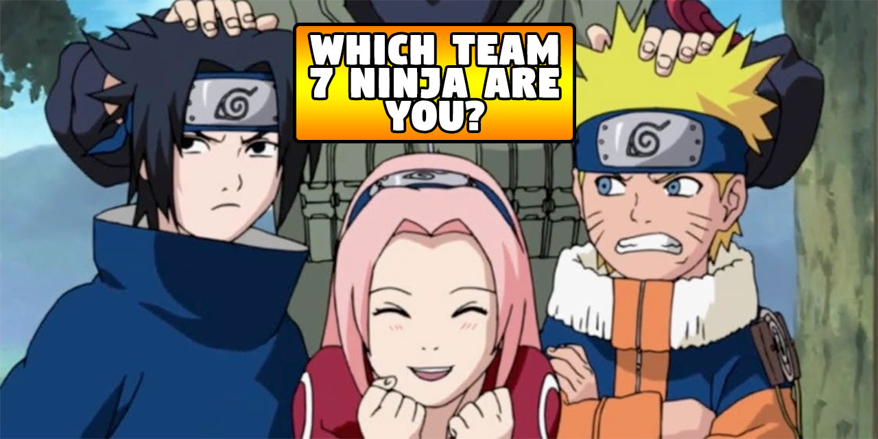 Which Original Team 7 Naruto Ninja Are You? | TheQuiz