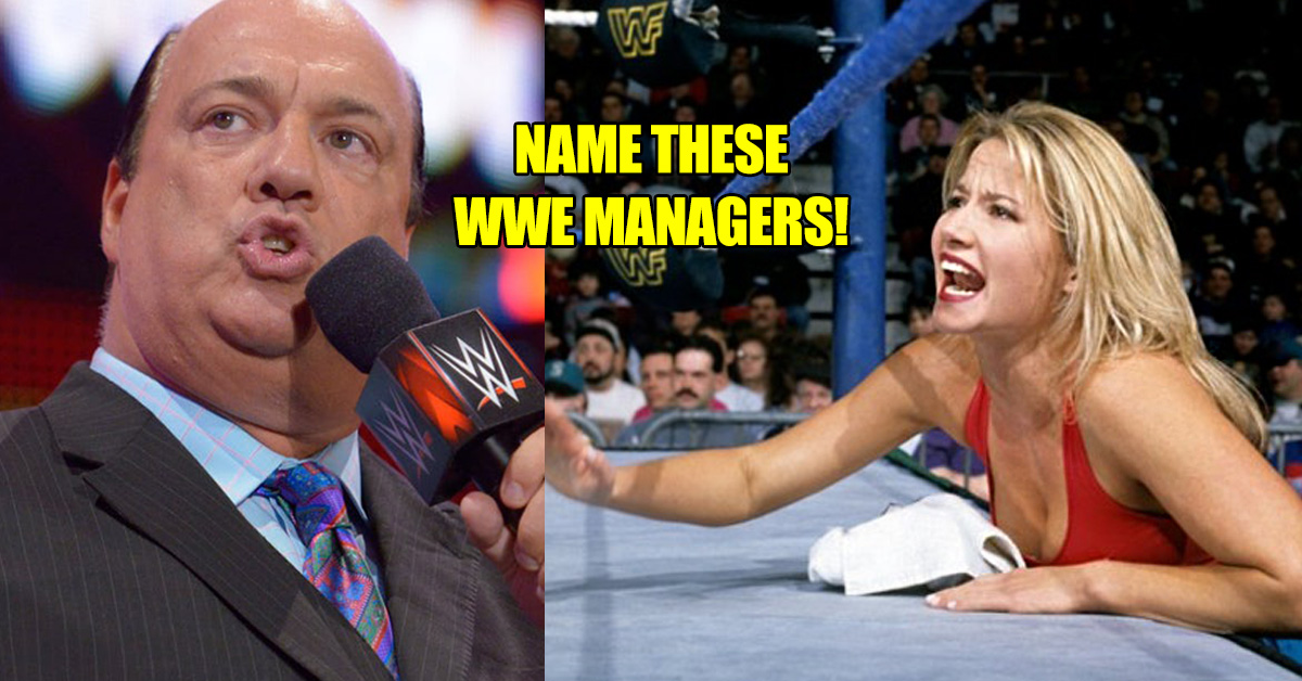 Only A Real Wwe Fan Can Name These Managers Thequiz