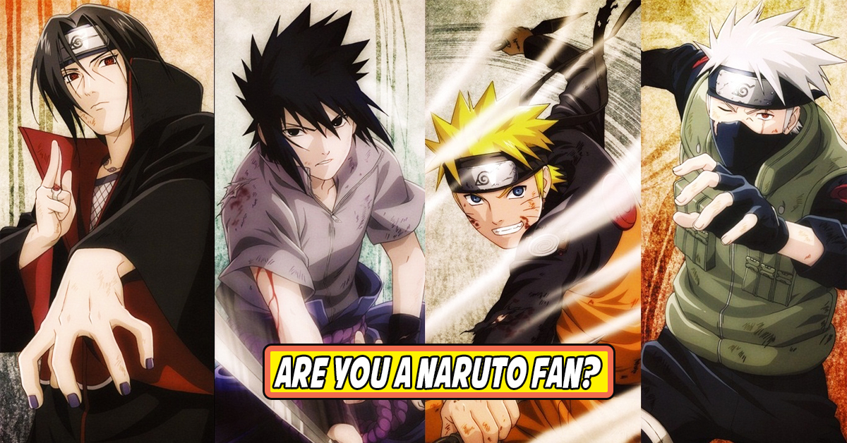 If You Don't Get 100% On This Quiz You're Not A True Naruto Fan