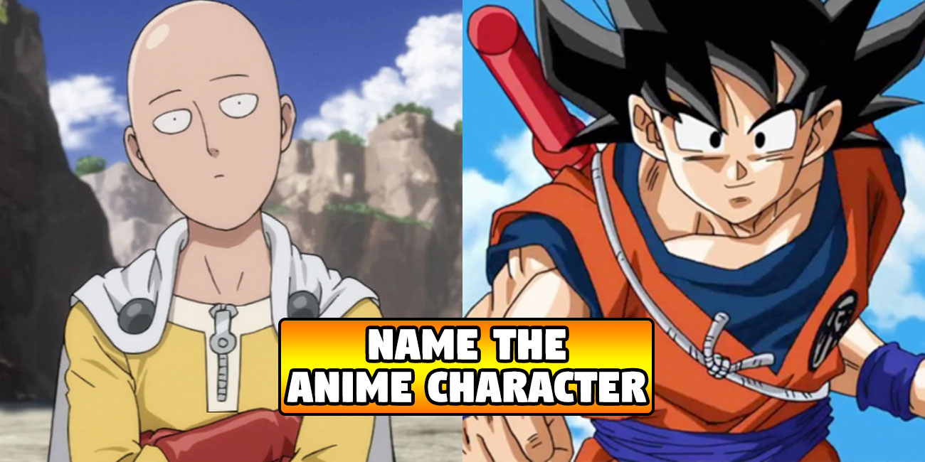 If You Can Name These Anime Characters, You're Officially A Dork