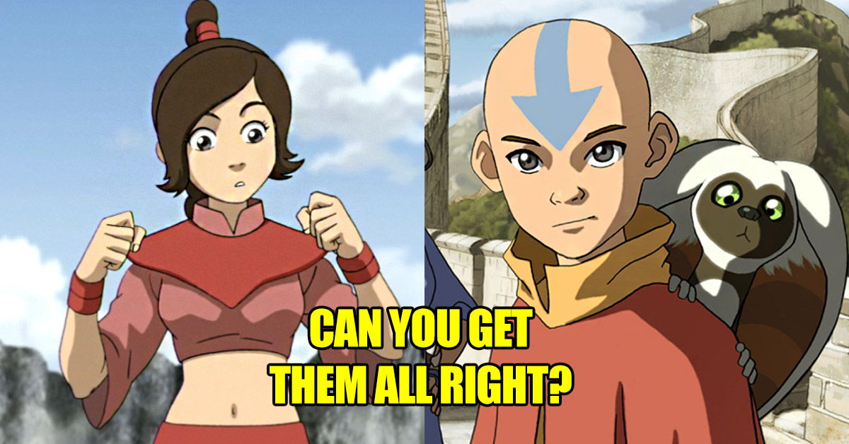 Only The Next Avatar Can Ace This Quiz Can You Thequiz