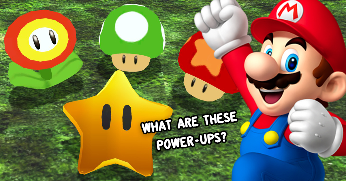 Can You Match The Mario Power-Up To What It Does?   TheQuiz