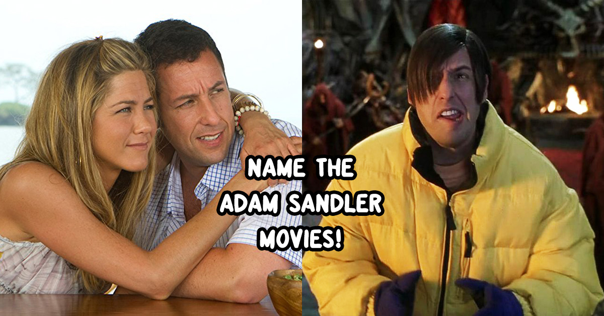 Can You Match The Adam Sandler Movie To The Screenshot
