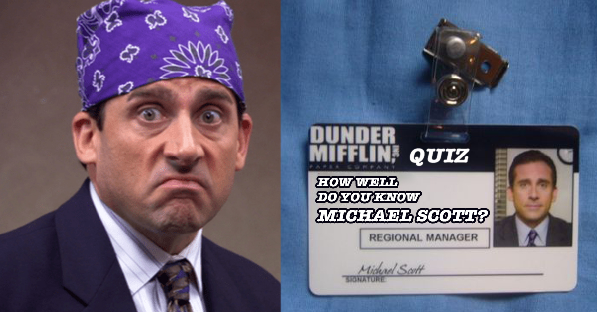 Can You Get 100% On The Michael Scott Quiz That Even Dwight