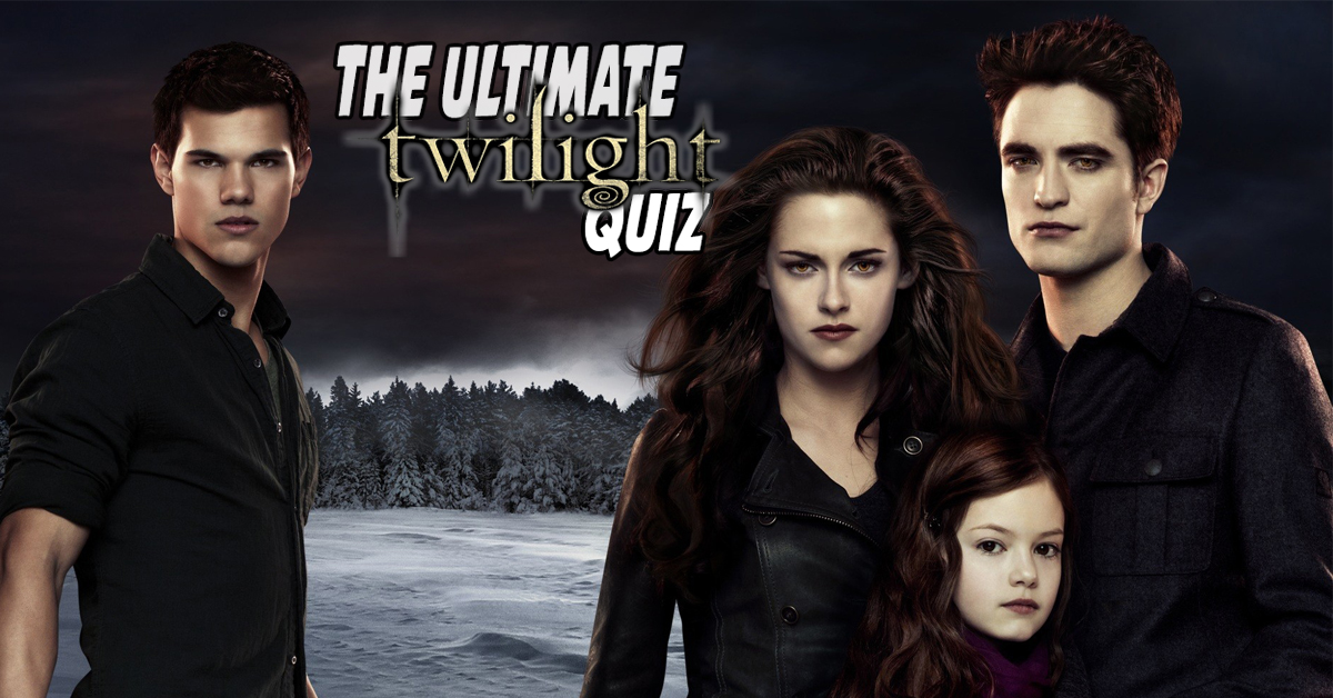 The Twilight Saga Character Quiz That Not Even Twihards Can Pass
