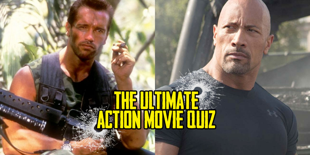 Only A Real Dude Can Ace This Action Movie Quiz | TheQuiz