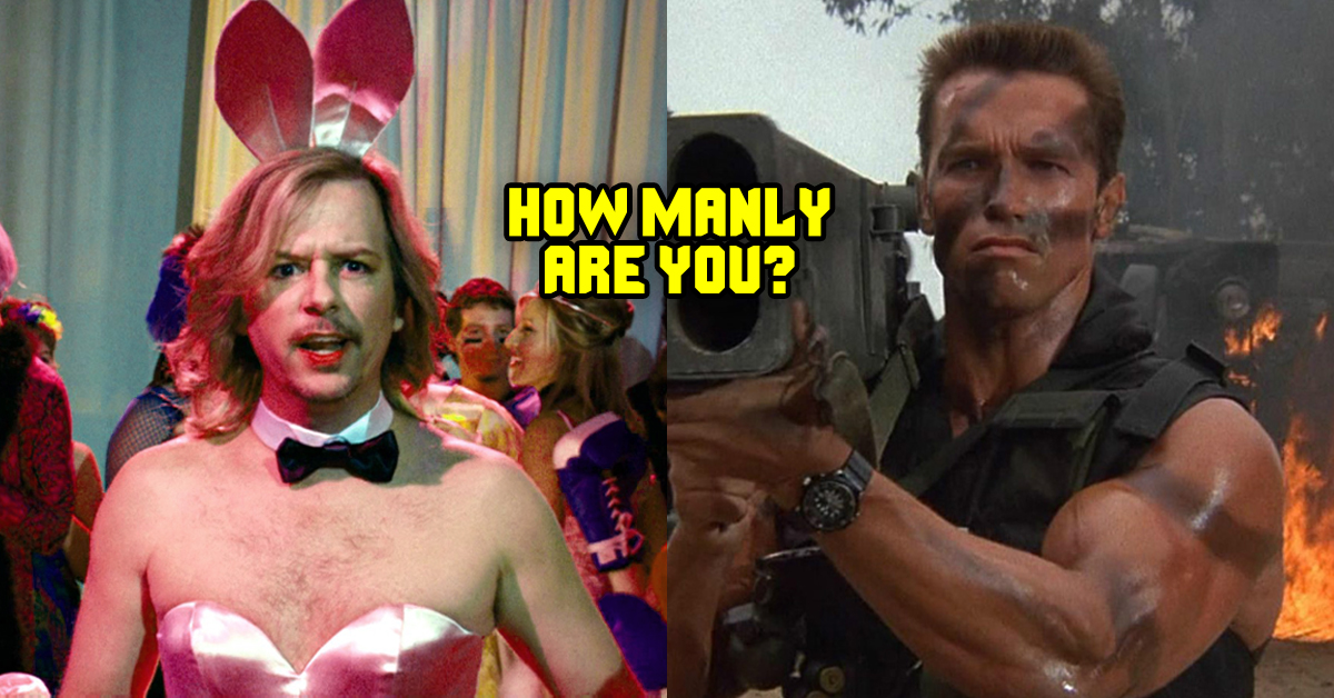 Find Out How Manly You Are On A Scale Of 1-10 | TheQuiz