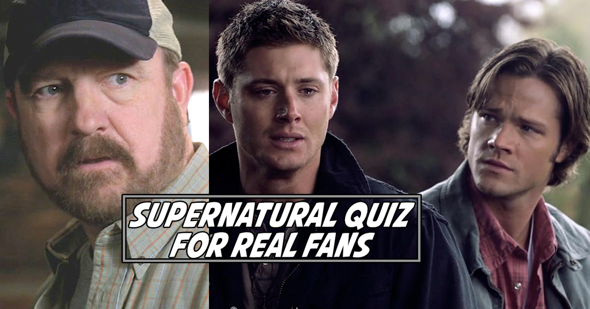 Only A Winchester Will Get 100% On This Supernatural Quiz