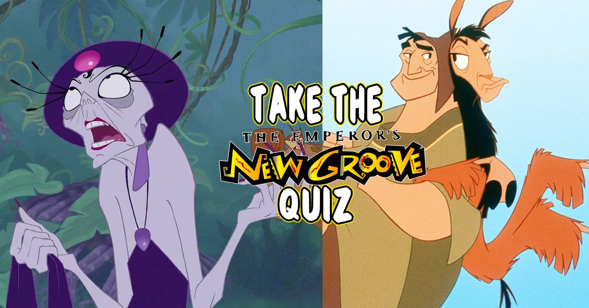 f3e3bdf402 There's No Way You Can Pass This Emperor's New Grove Quiz...But You Can Try