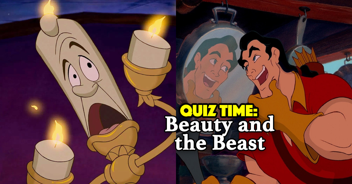 0997be3c There's No Way You'll Pass This Quiz On Beauty And The Beast, But You Can  Try!