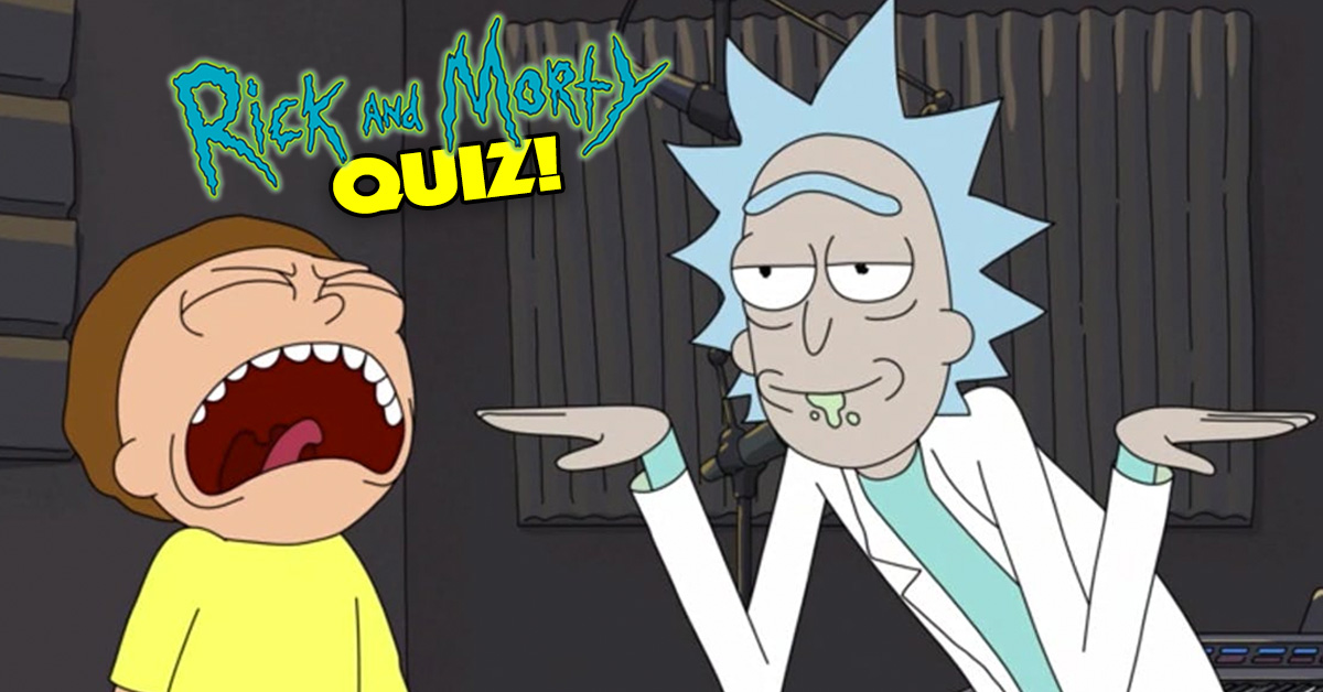 Only 1% Of Rick & Morty Fans Will Pass This Quiz  Can You?