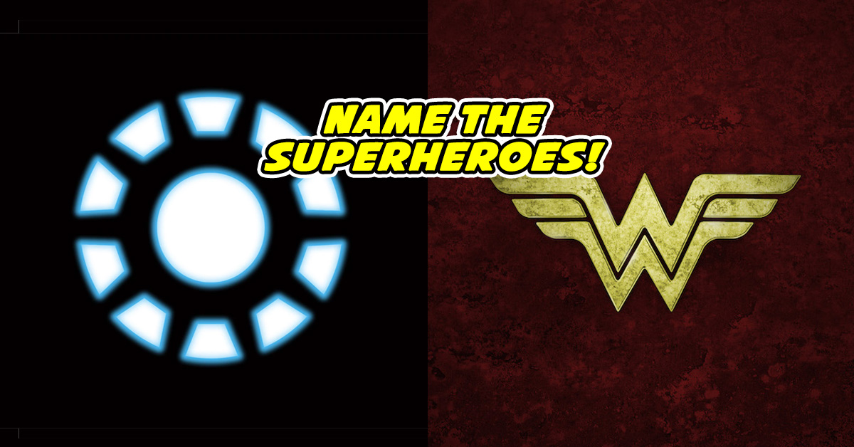 Theres No Way You Can Match These Symbols To Their Superherobut
