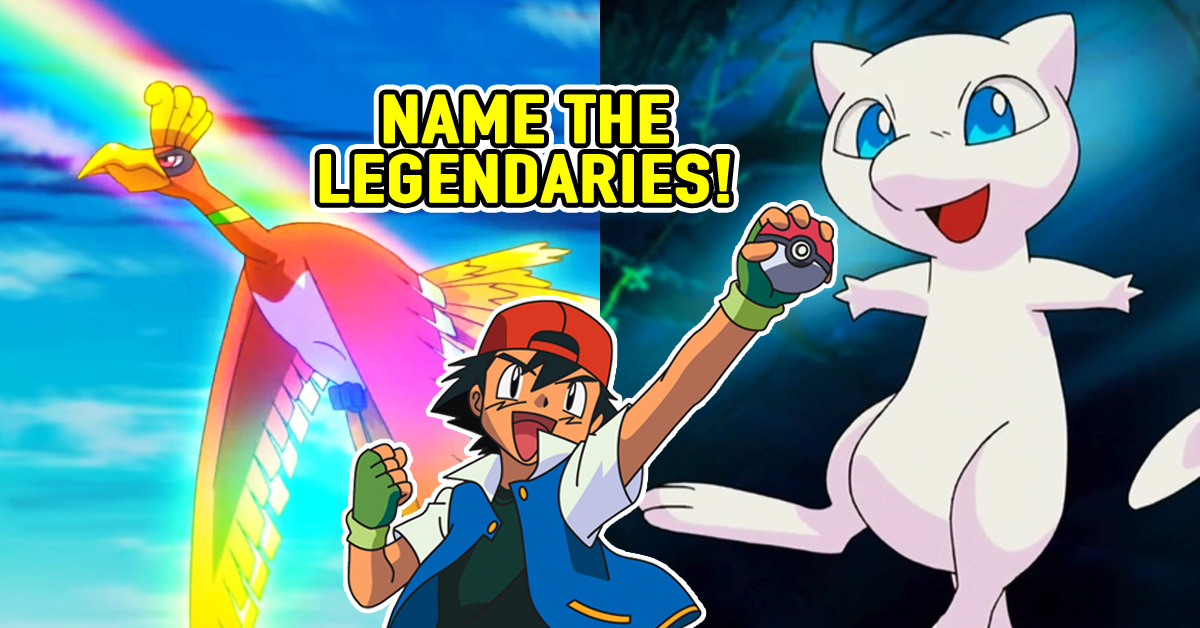 Only A Real Trainer Can Name All These Legendary Pokemon!