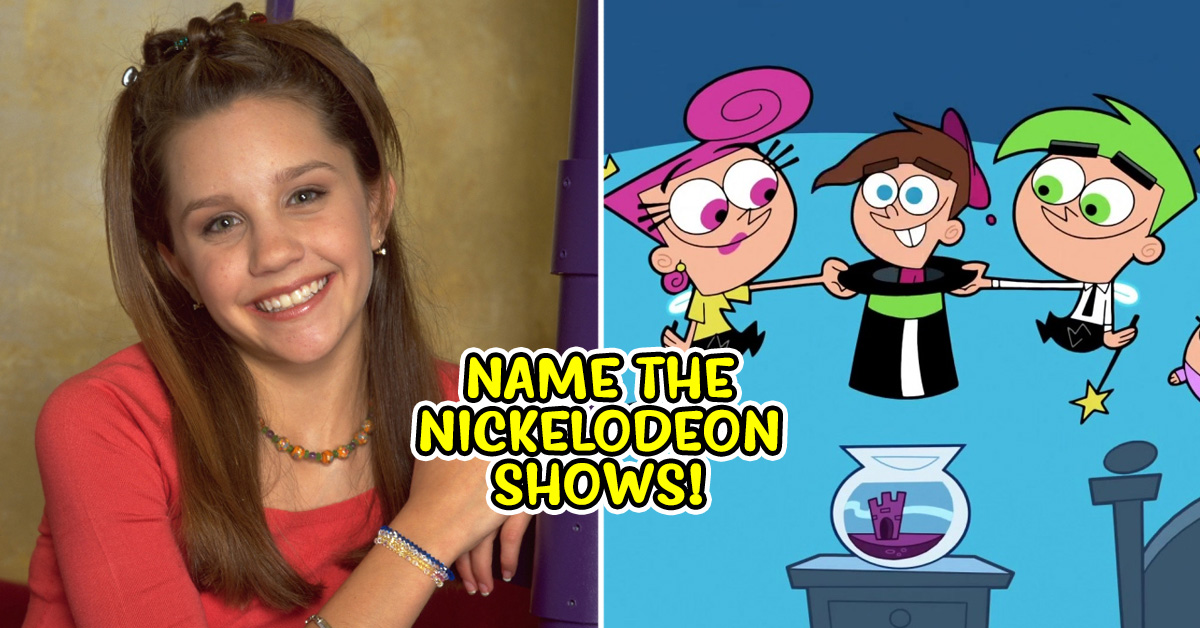 Only A Nickelodeon Kid Can Name All Of These TV Shows! | TheQuiz