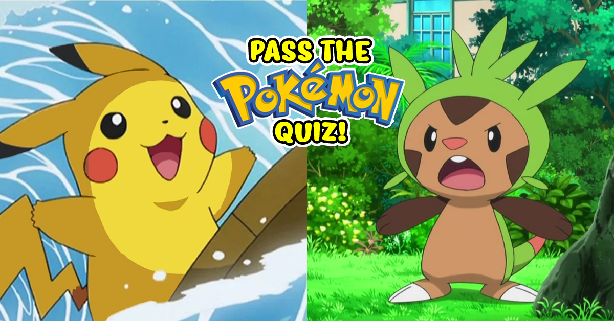 50 Questions Every Pokemon Trainer Should Be Able To Answer!