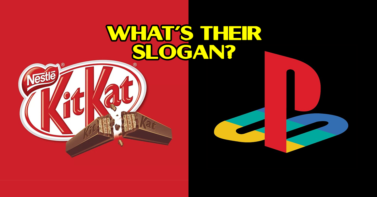 There's No Way You Can Match All These Slogans To Their Brands!