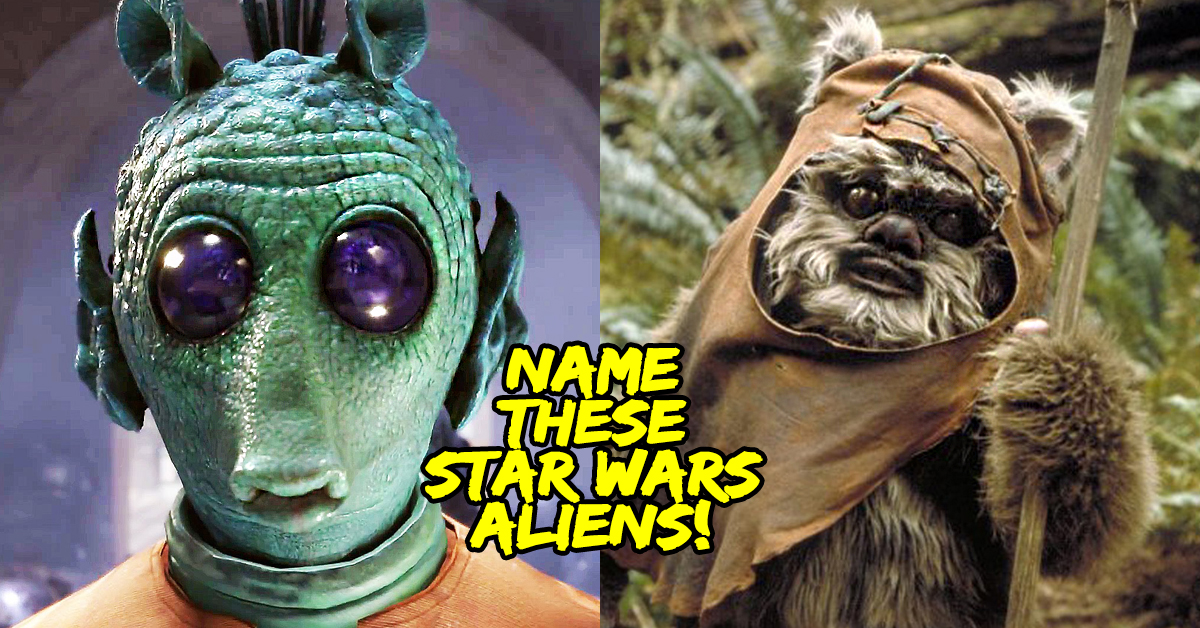 there s no way you can identify all these star wars alien races