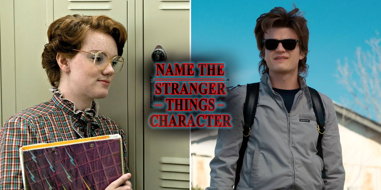 Only A True Fan Can Name These Stranger Things Characters
