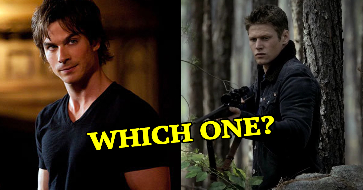 Take This Vampire Diaries Quiz And We'll Reveal Which Hunk