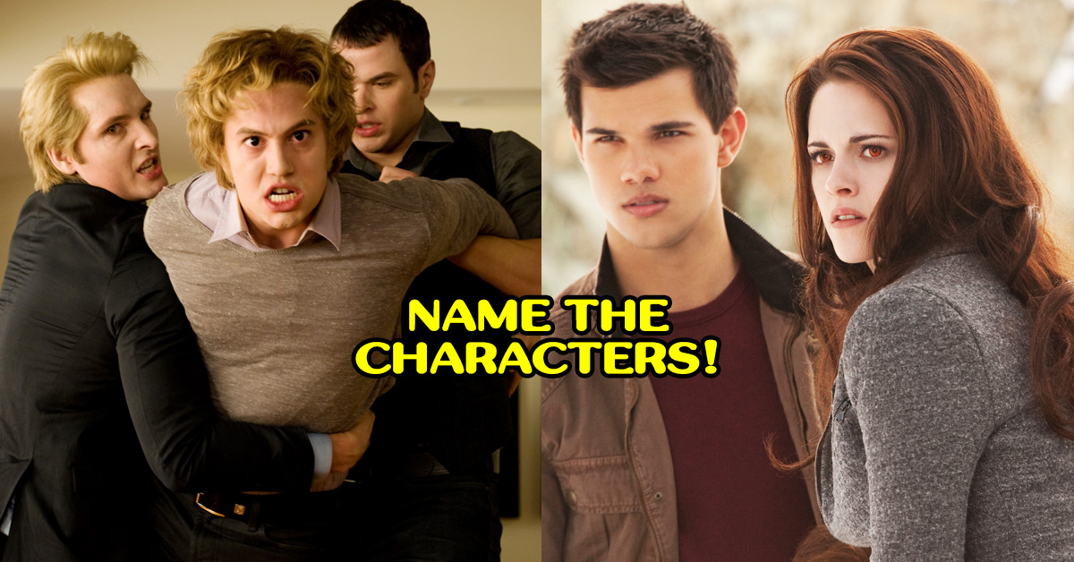 Name These Twilight Characters And We'll Tell You Which Vampire You Are!
