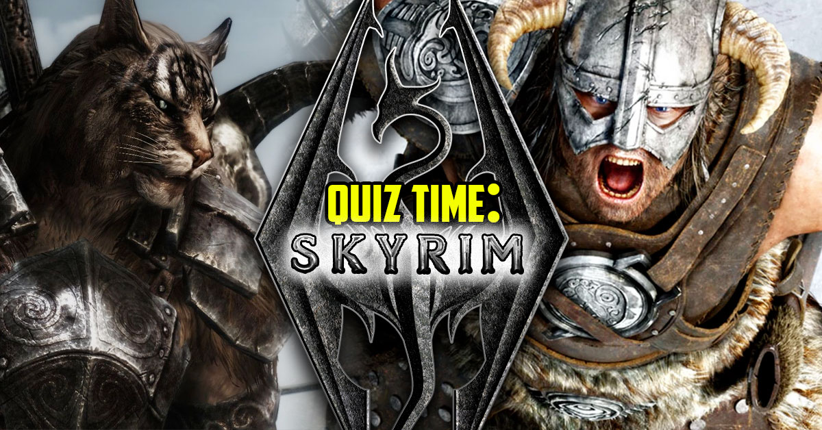 Take The Elder Scrolls Quiz To See Which Skyrim Race You Are