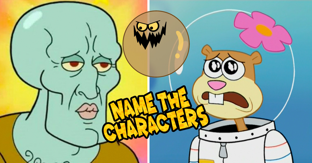 Only A True Millennial Can Name All Of These SpongeBob