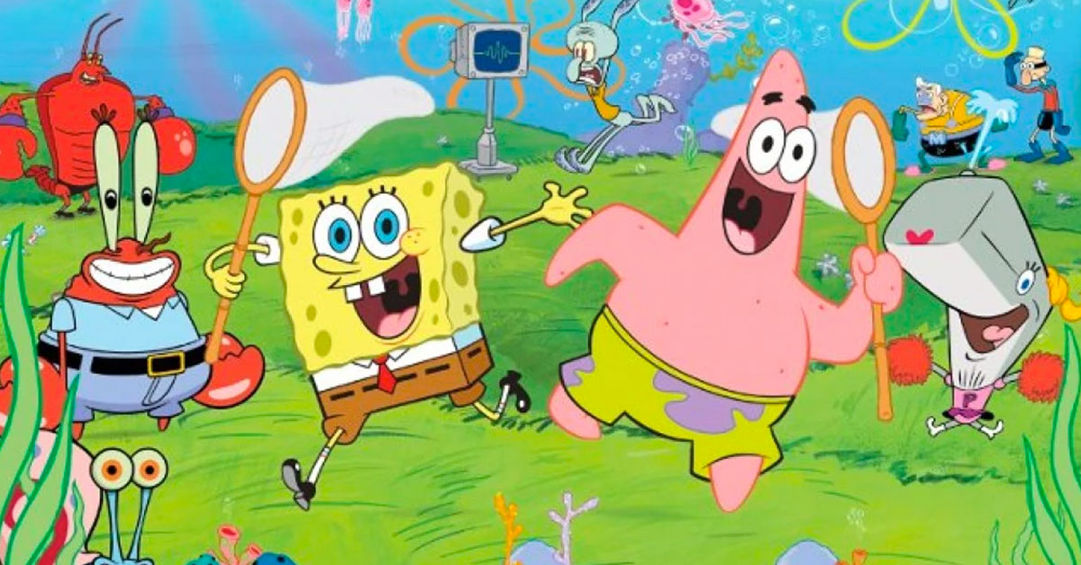 If You Can't Name These SpongeBob Characters, You're A Total