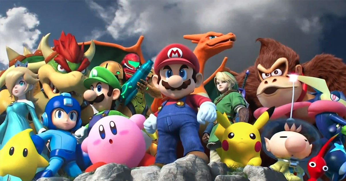 Only 1 In 100 Gamers Can Name All The Characters From Super Smash Bros